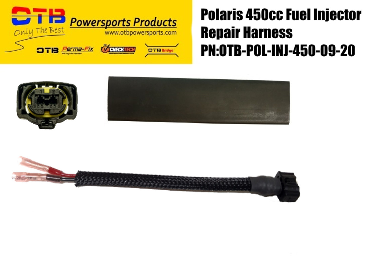 Polaris 450cc fuel injector repair harness