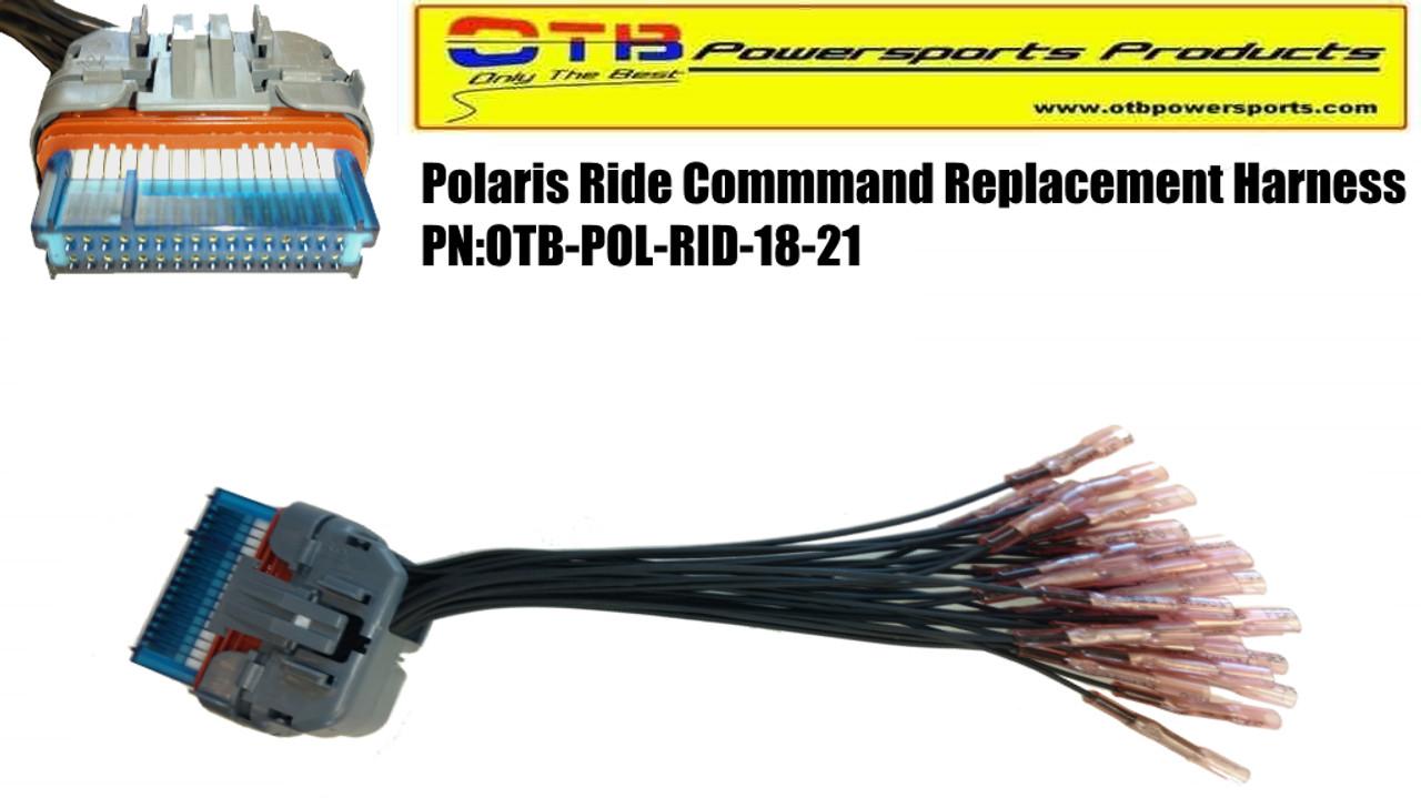 polaris ride command wiring harness