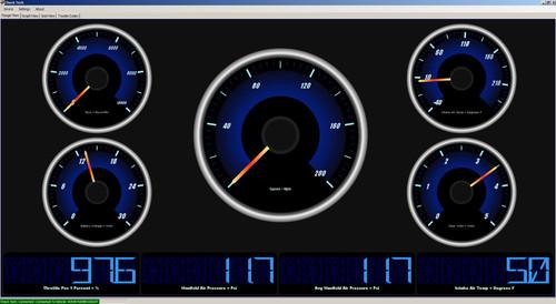 polaris diagnostic tool check tech software  gauge