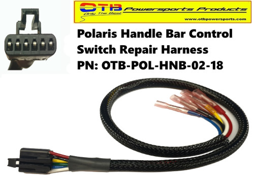 polaris handle bar control wiring