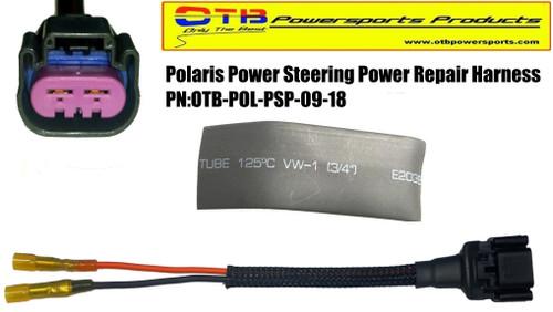 polaris power steering power wiring
