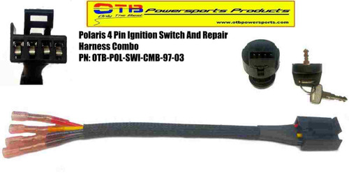 polaris ignition switch and wiring harness repair kit