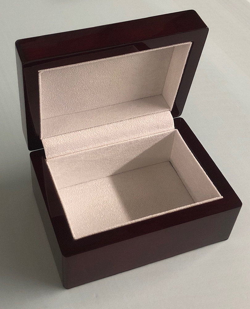Rosewood Award Keepsake Jewelry Box
