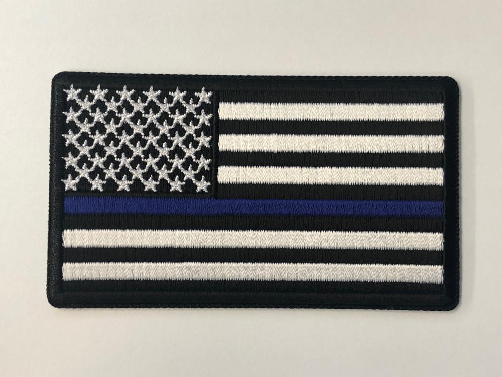 Blue Line Flag Patch