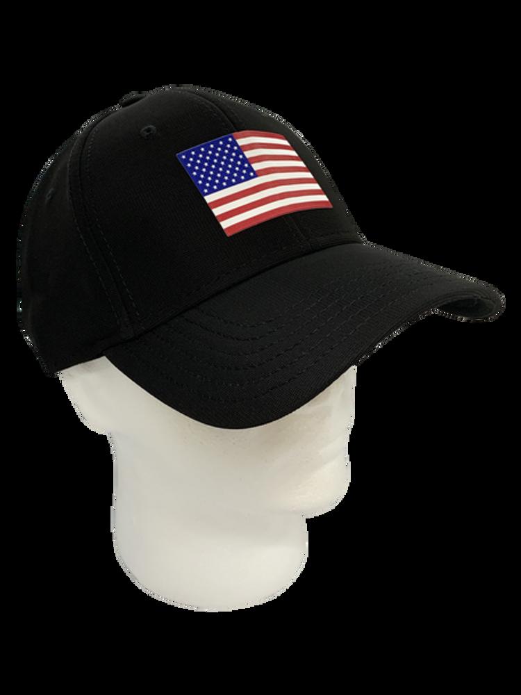 Matte American Flag Emblem