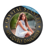Custom Round Acrylic Photo Print, Personalized with any picture, Photo or Image. Amazing gift.