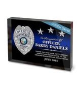ACRYLIC BLOCK RECOGNITION AWARD