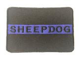 Sheepdog Thin Blue Line Patch