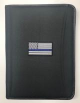 Padfolio featuring Blue Line Flag