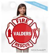CUSTOM DIGITAL WALL PLAQUE (Fire Rescue & EMS)
