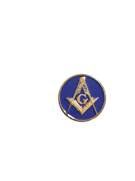 Awesome FULL COLOR Masonic enamel logo