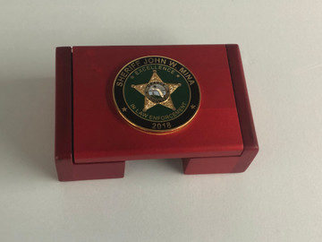 Business Card Holder Box