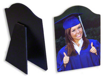 Hardboard Photo Panel with Easel 8x10 Arch