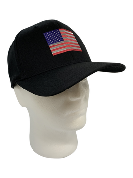 Metallic American Flag Emblem
