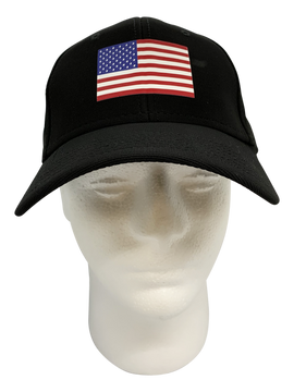 FLEX FIT American Flag Hat