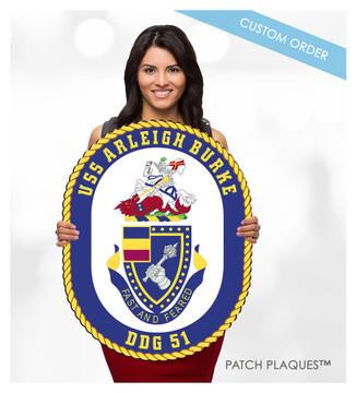 CUSTOM DIGITAL WALL PLAQUE (Military)
