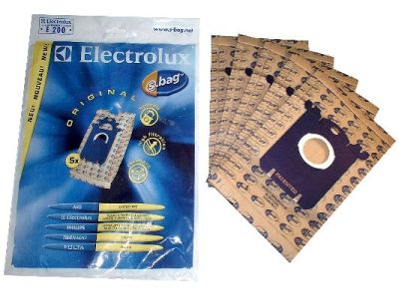 REPLACEMENT VACUUM CLEANER BAGS (X5)