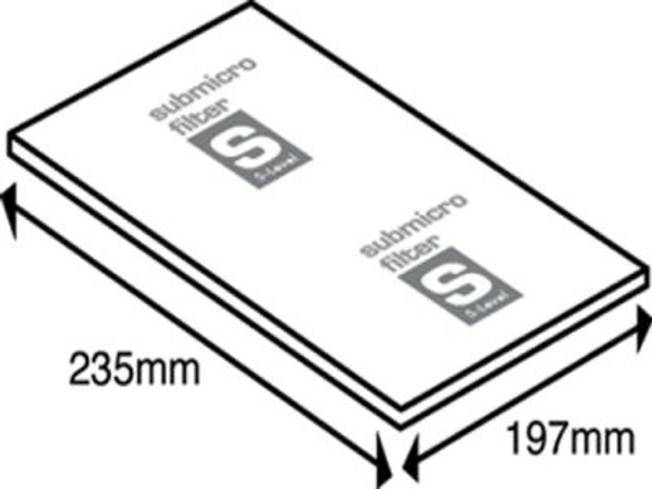 Universal Vacuum Cleaner Microfilter - FIL31