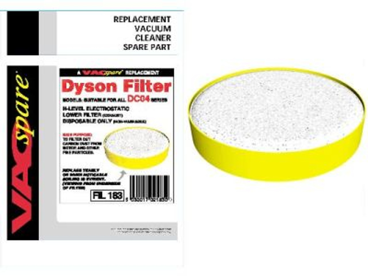 Dyson DC04 H Level Lower Filter - FIL183