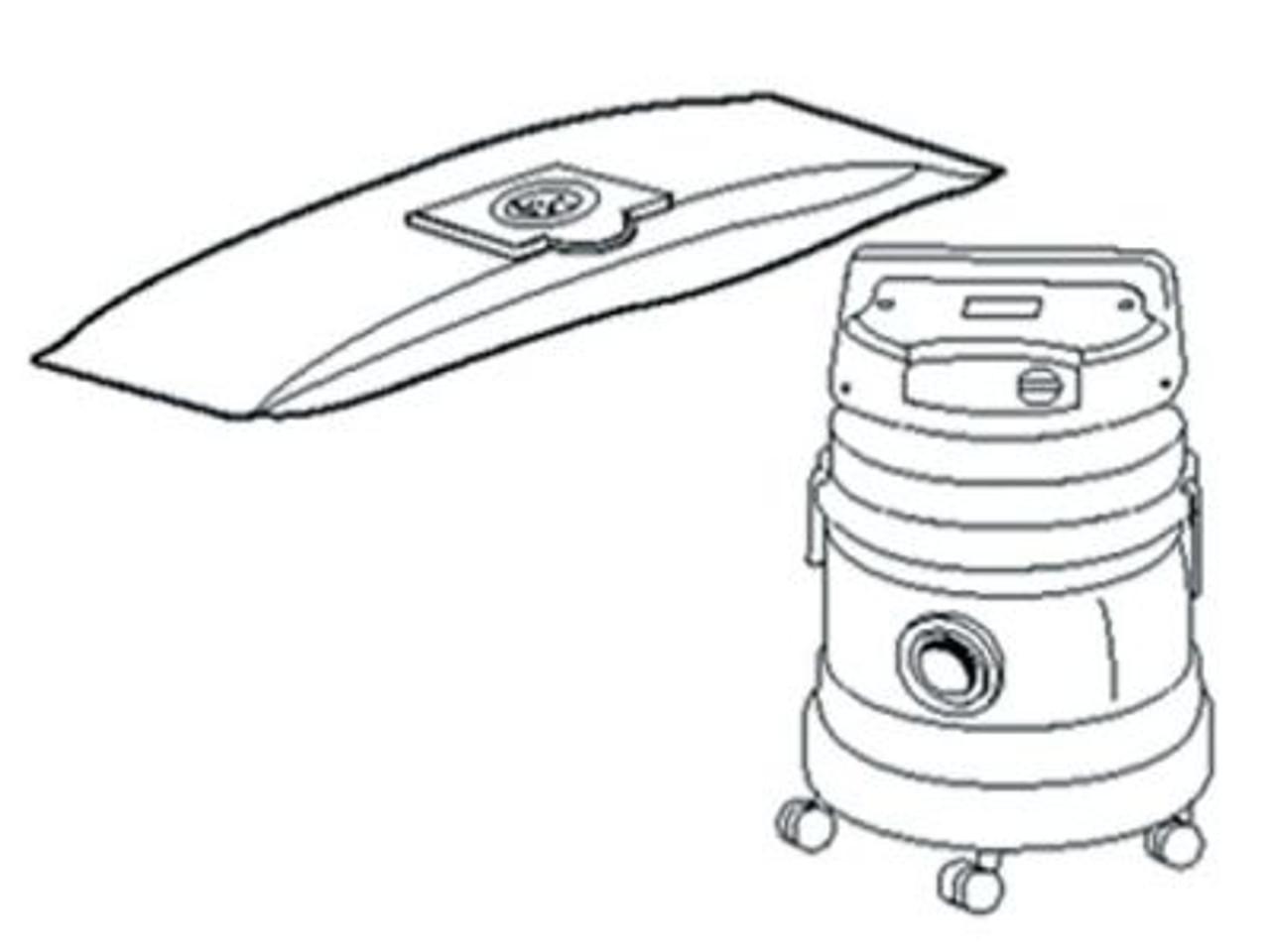 Rowenta RB50 Vacuum Cleaner Bags - SDB65