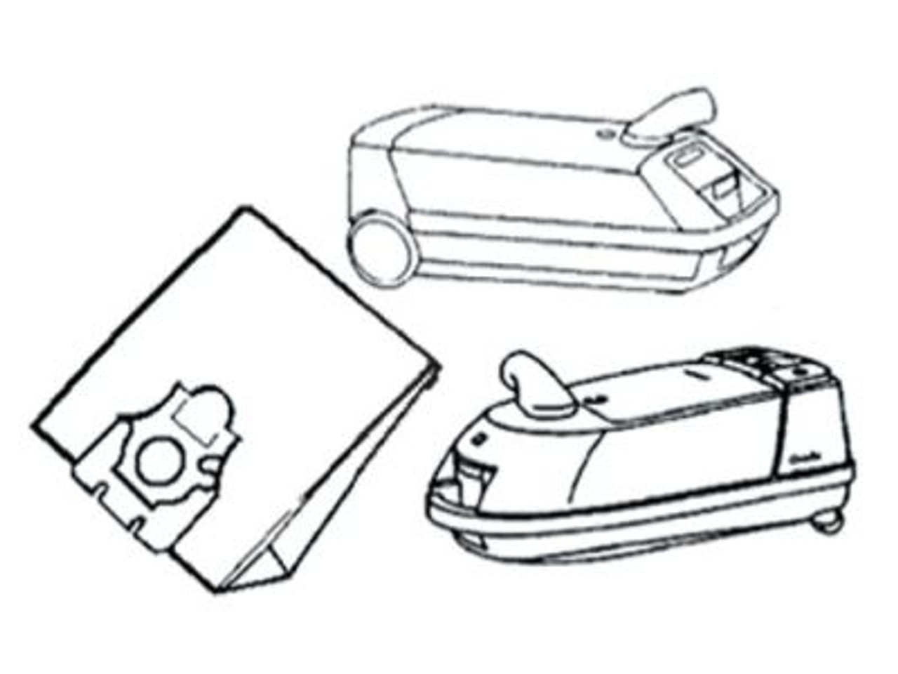Miele S227-S290 Vacuum Cleaner Bags - SDB153