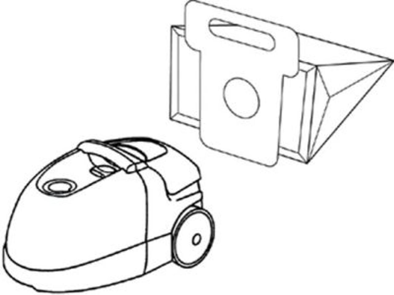 Moulinex Powerstar Vacuum Cleaner Bags - SDB264