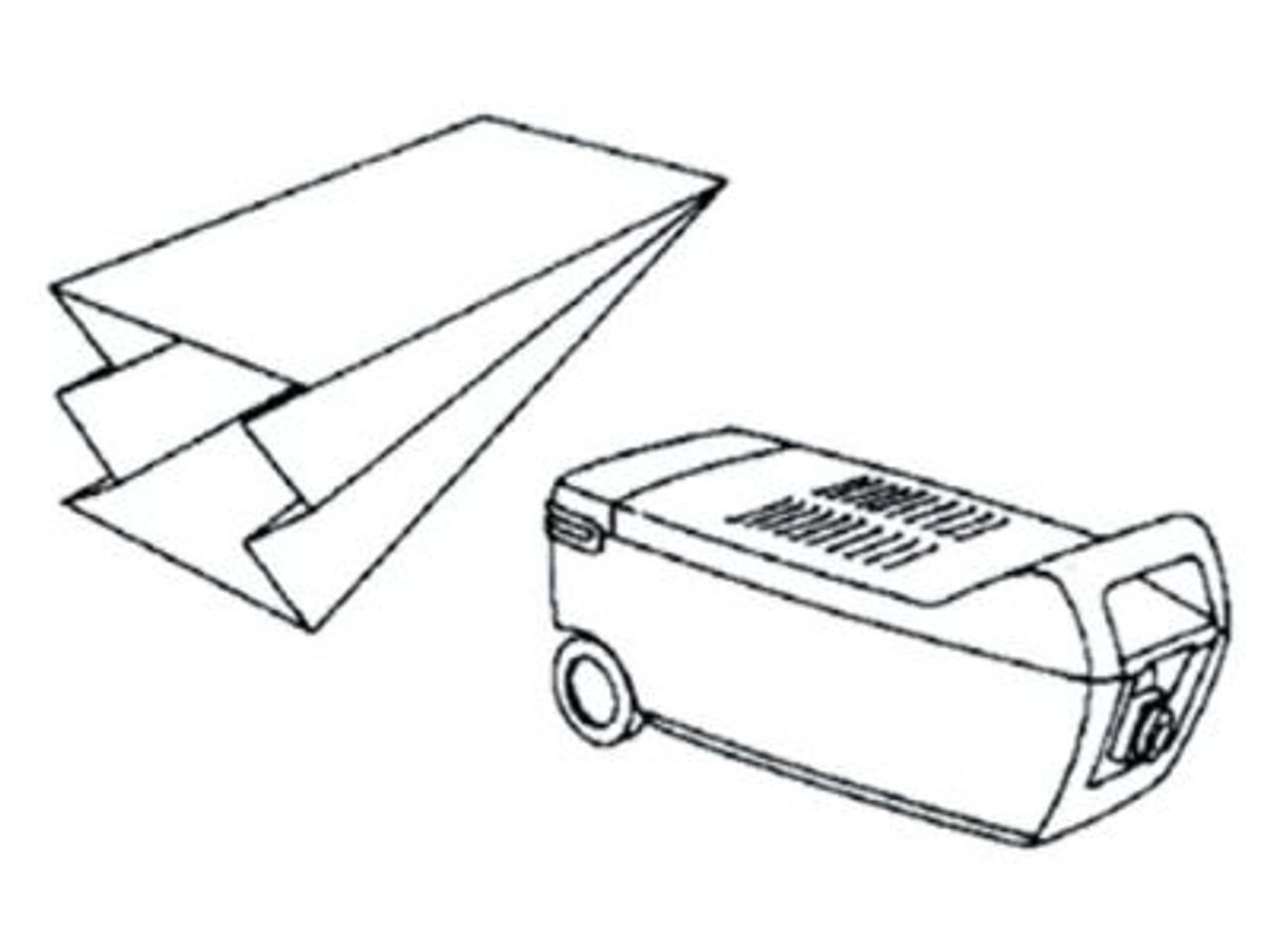 Philips Paris Vacuum Cleaner Bags - SDB102