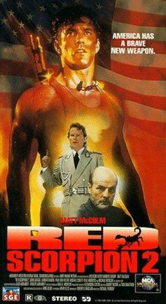 Red Scorpion 2 DVD