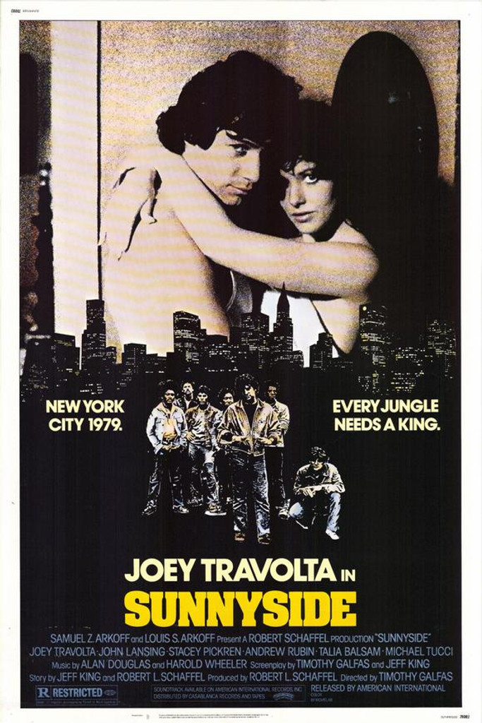 "Like the classic gang movie ""The Warriors""? Well you're sure to enjoy this one with John Travolta's older brother Joey. Sunnyside DVD from 1978. Rare and out of print movie."