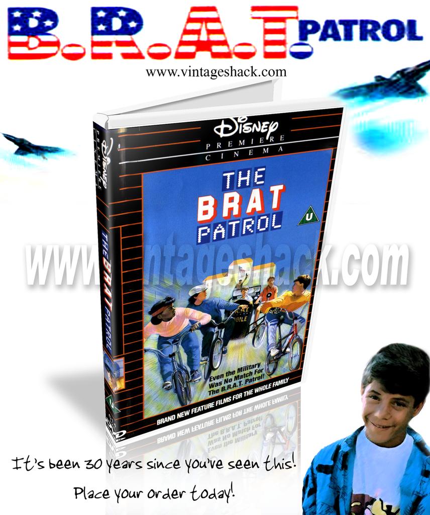 "Classic Disney Sunday night movie ""BRAT PATROL"" on DVD STARRING SEAN ASTIN, JASON PRESSON, NIA LONG, BILLY JACOBY, AND BRIAN KEITH. 1986"