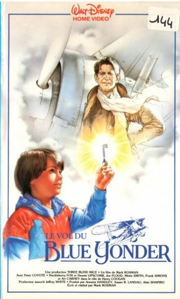 The Blue Yonder 1985 DVD