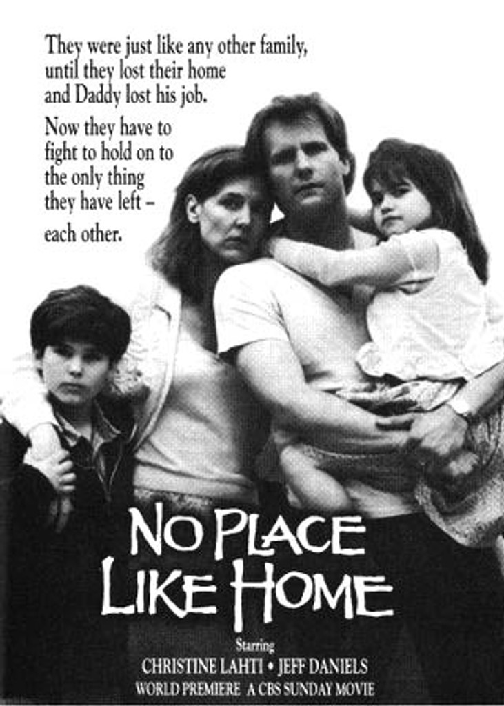 "No Place like Home aka ""Homeless"" DVD Jeff Daniels, Christine Lahti"