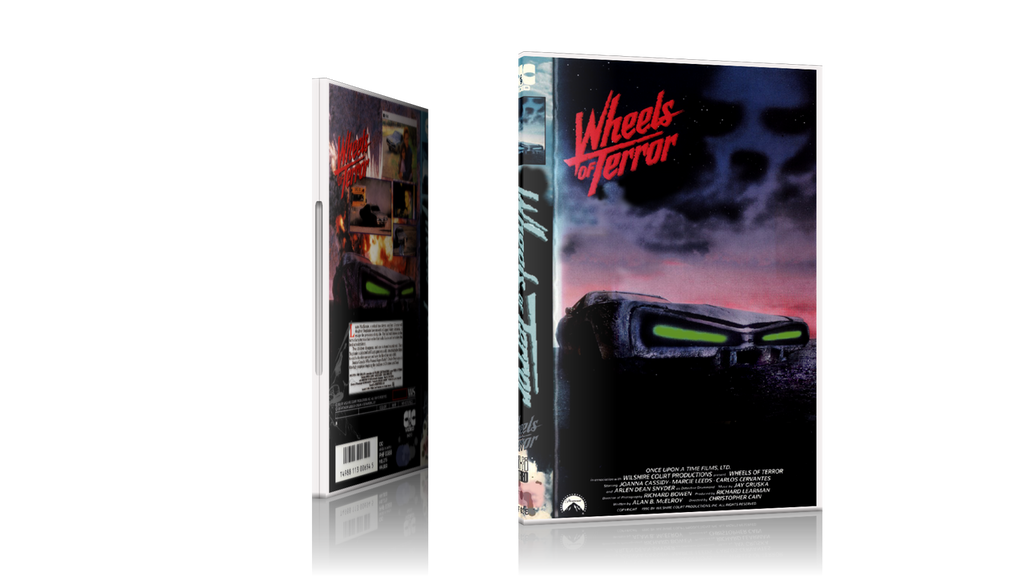 Wheels of Terror DVD  Starring Joanna Cassidy