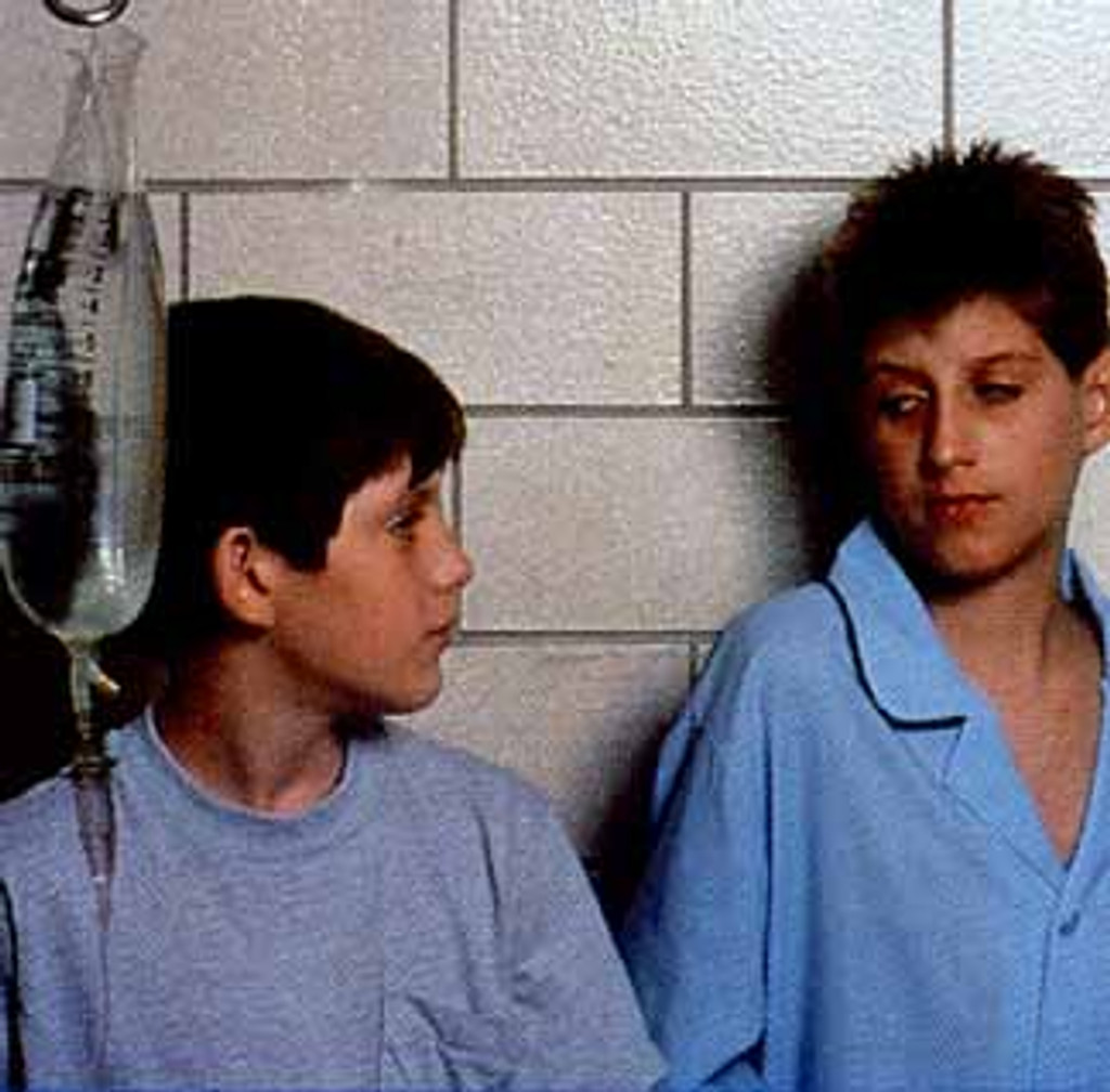 Also starring the real Ryan White