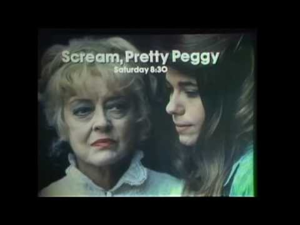 scream, pretty peggy DVD 1973