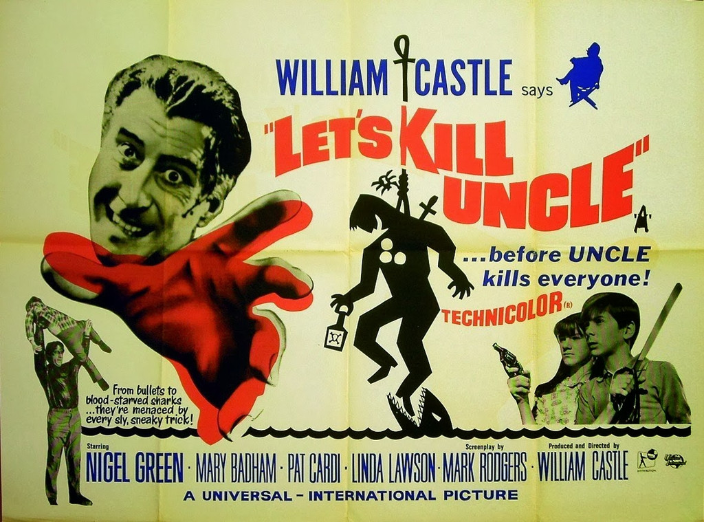 """William Castle's: """"Let's Kill uncle"""" on DVD"""