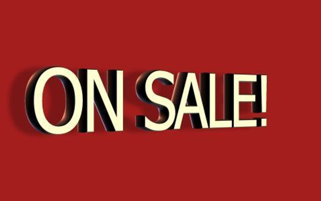 ON SALE! YAY!!