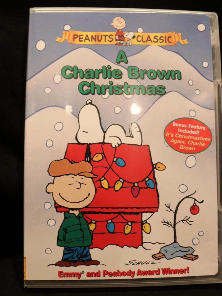 A Charlie Brown Christmas & bonus feature movie - DVD