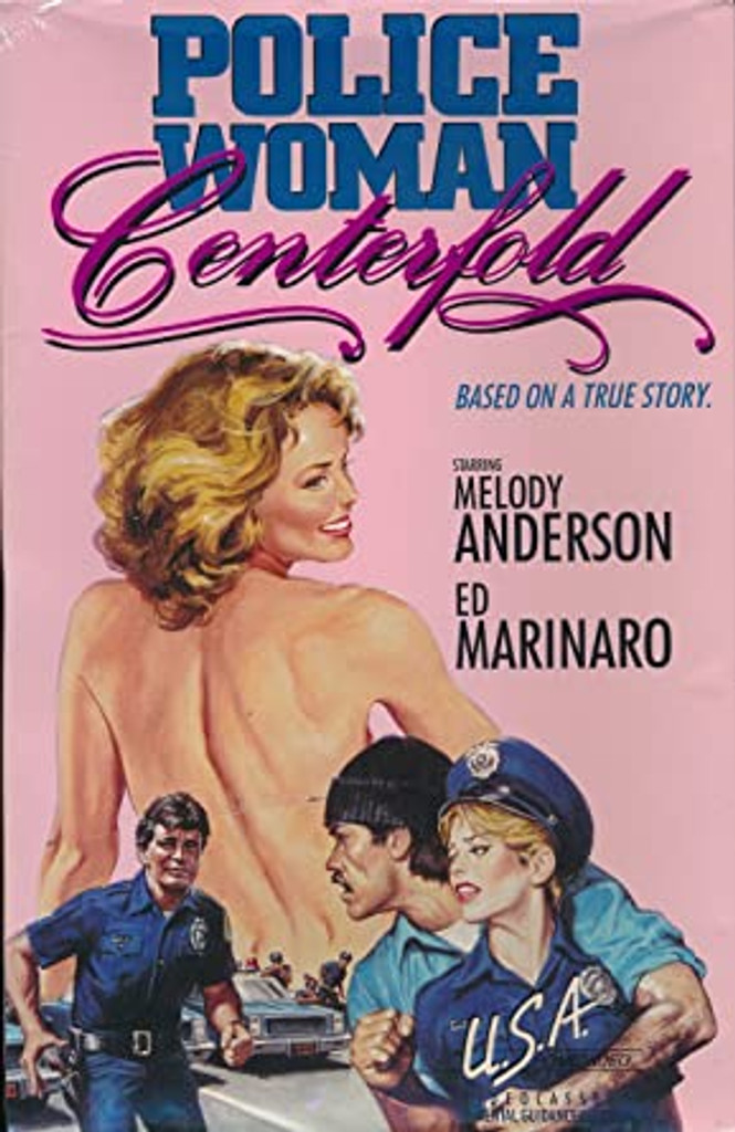 Policewoman Centerfold  DVD Melody Anderson