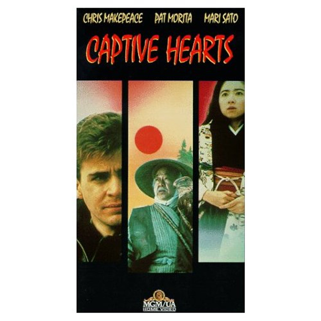 Captive Hearts DVD Chris Makepeace (Meatballs) Pat Morita (The Karate Kid)