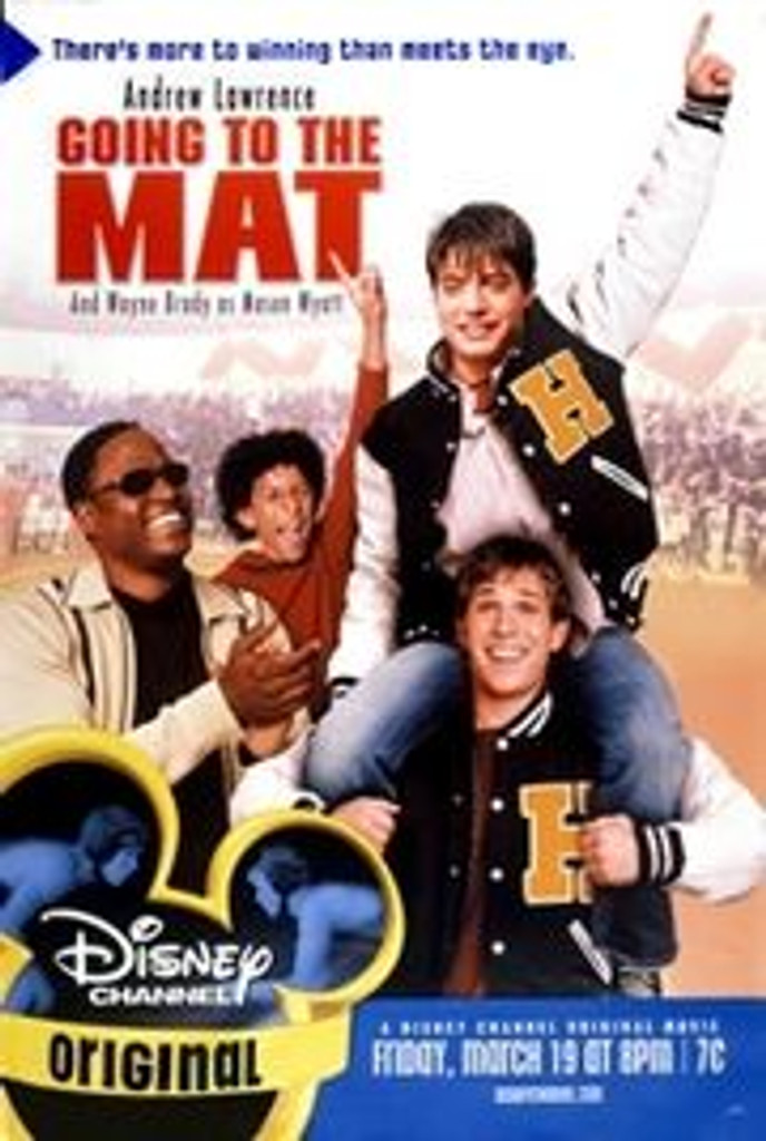 Going to the Mat starring Andrew Lawrence DVD