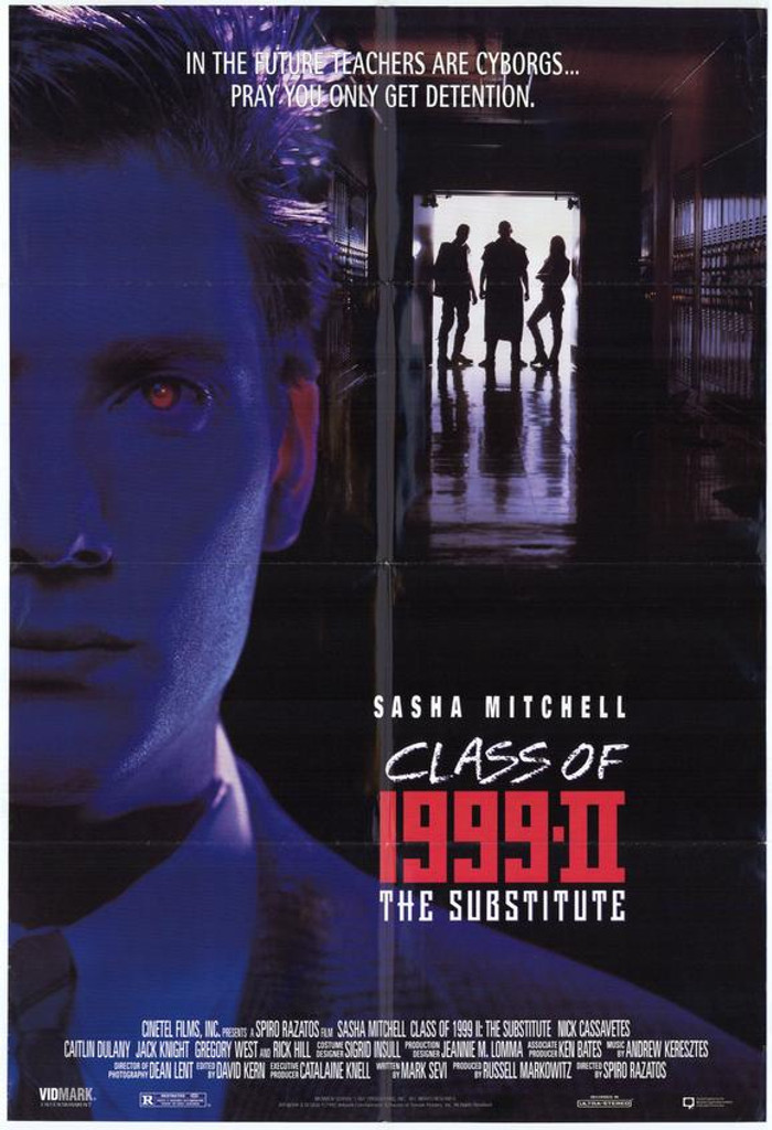 Class of 1999 II: The Substitute DVD