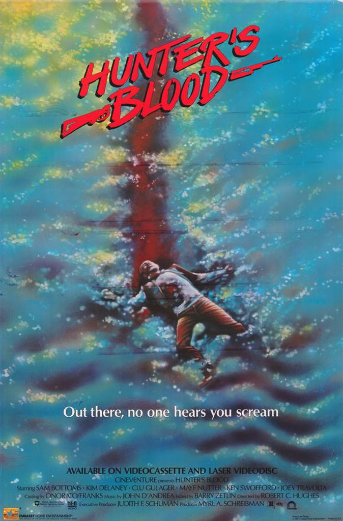 Hunter's blood 1986 DVD