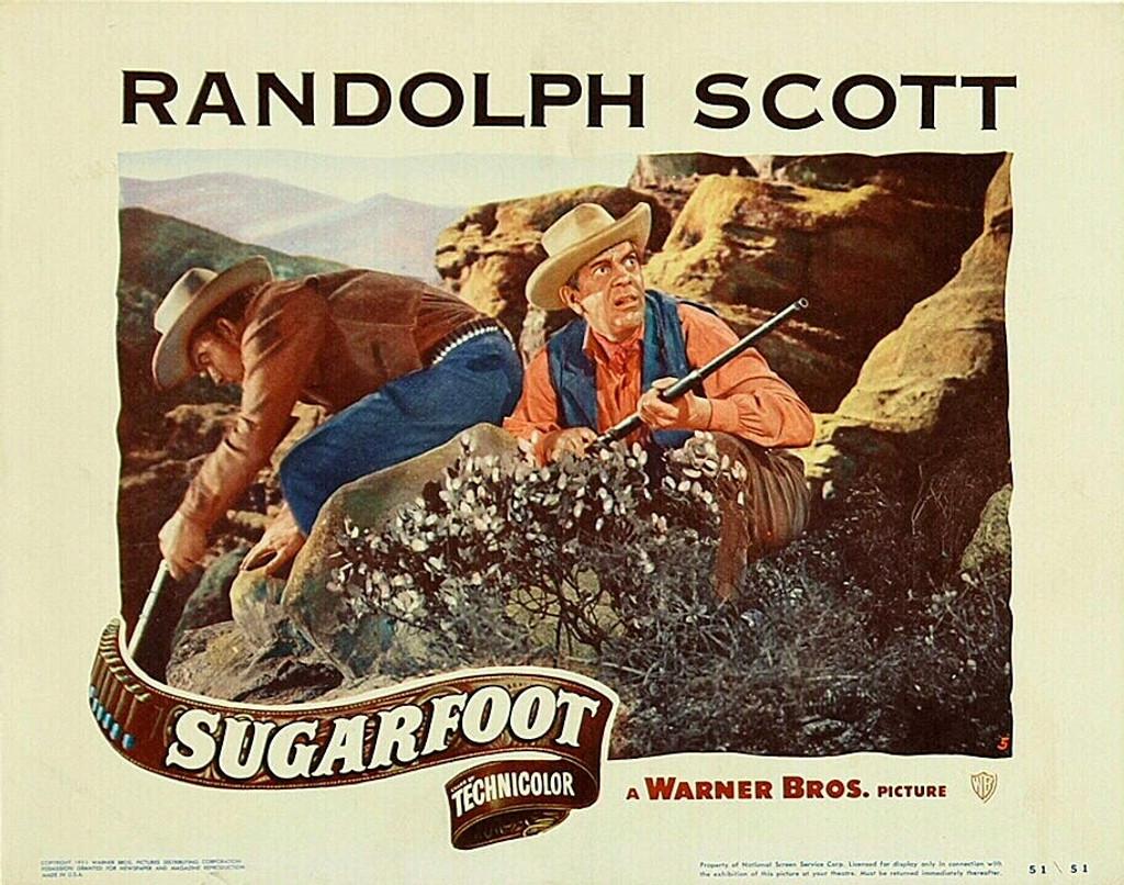 sugarfoot 1951 movie DVD