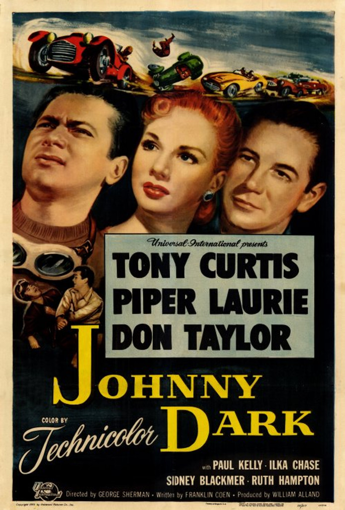Johnny Dark DVD Tony Curtis