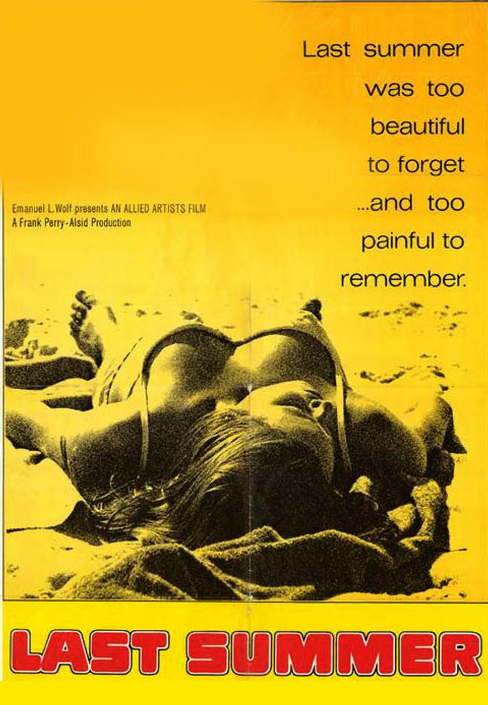 Last Summer DVD 1969
