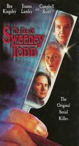 the tale of sweeney todd ben kingsley DVD