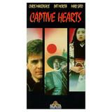 Captive Hearts DVD Chris Makepeace (Meatballs) Pat Morita (The Karate Kid)