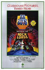 """Classic animated cartoon """"Gobots: Battle of the Rocklords"""" on DVD. 1986.  The Guardian Gobots are continuing their work on rebuilding their home planet of Gobotron when a mysterious ship crashes on the planet. Leader-1, Turbo and Scooter investigate, and find it to be occupied by a pair of transforming rocks - Solitaire and her valet Nugget. They have come seeking the Guardians' help to save their planet, Quartex, from the evil Rock Lord Magmar, who is killing the other Rock Lords in order to take their power sceptres. He places these in a machine designed to channel all their power into his own sceptre."""