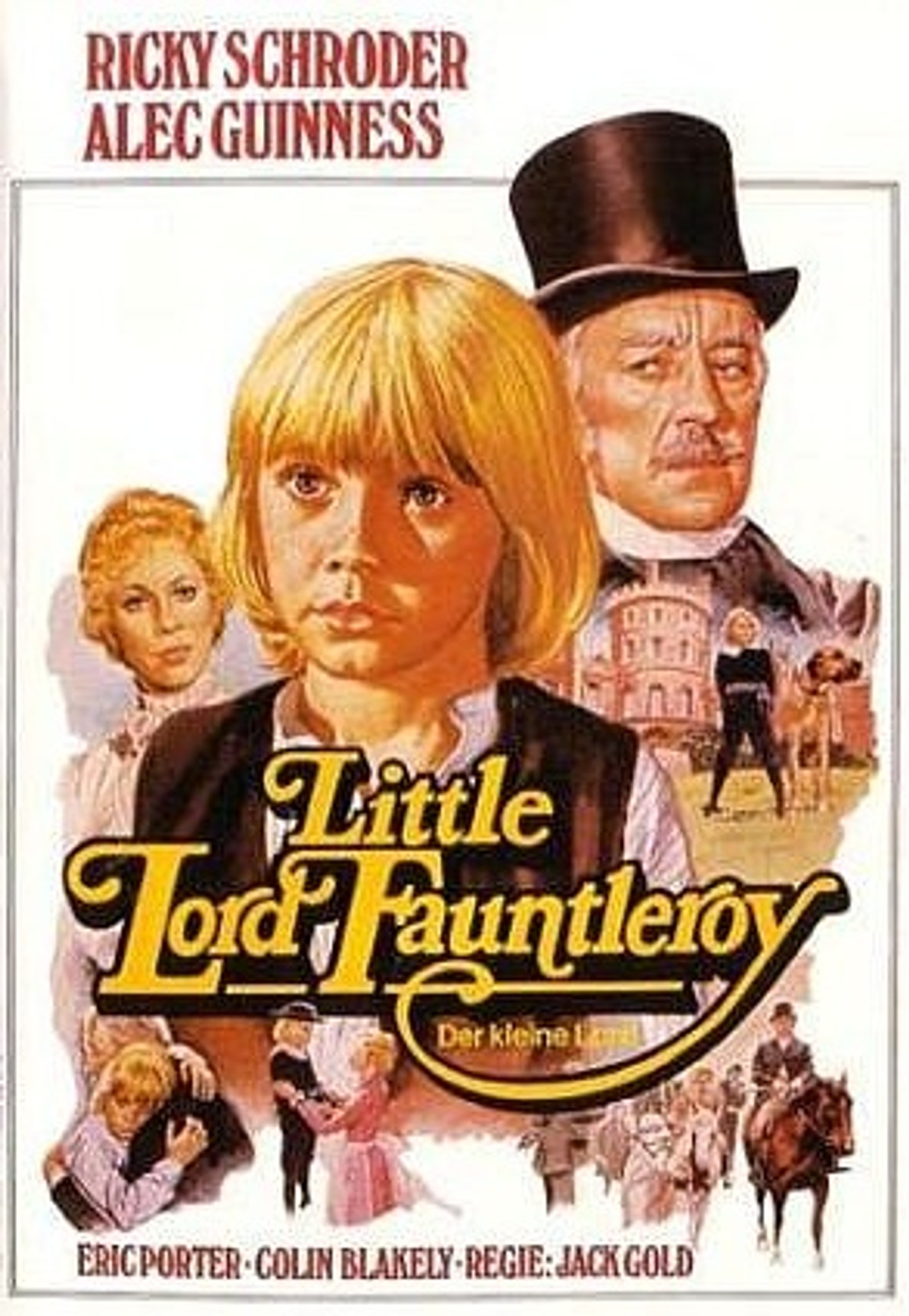 Fauntleroy Little DVD Schroeder Lord 1980 Ricky